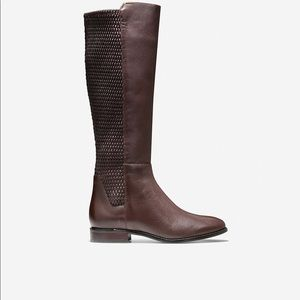 NWOT Brown Cole Haan Rockland Boots size 10